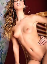 smallbreasts, Chiara has long legs and big hot lips, she has gorgeous hair and a bottom she likes to stick out and show off.